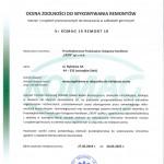 Certyfikat KOMAG str1.